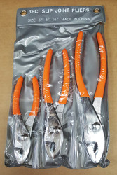 "3 Piece Slip Joint Pliers (6"", 8"", 10"") - FREE SHIPPING"
