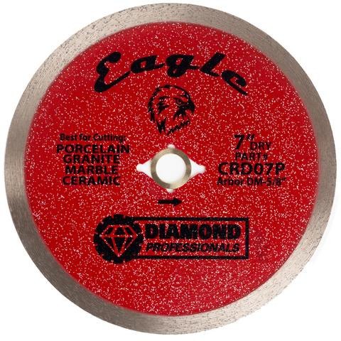 "14"" Eagle Dry/Wet Continuous Blade - Tile Tools"