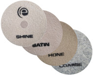 "Evolution Pads 17"" (Set of 4) - 1 Coarse - 1 Hone - 1 Satin - 1 Shine"