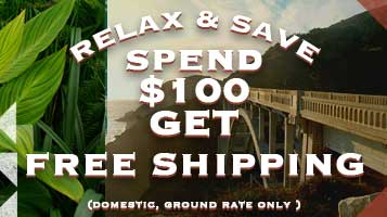 Shop in the comfort of home and get free shipping on all orders of $100 or more when shipping within the USA