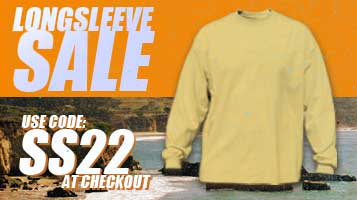 Save 20% on Long Sleeve Tees- MUST enter the coupon code at checkout