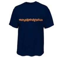 Floral Leaf Heavy T-Shirt   Pro Fit