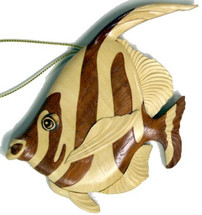 Moorish Idol Wooden Ornament