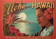 Aloha Hawaii Postcards-Kerne Erickson