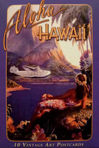 Hawaiian Vintage Art Postcards
