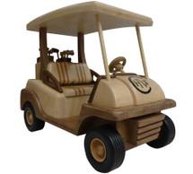 Golf Cart Wooden Replica