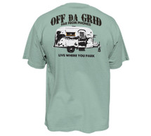 Off the Grid Trailer - Heavy Tee for Men - Pro Fit
