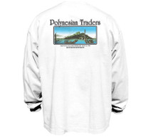 Polynesian Traders Heavy T-Shirt for Men Long Sleeve
