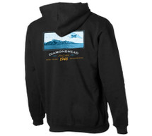 Diamond Head Hoodie | Fleece Sweatshirt