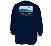 1-Diamond Head | Long Sleeve T-Shirt | Tall Fit