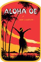 Aloha Oe Decal