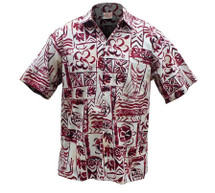 Outrigger Pareau Traditional Hawaiian Shirt