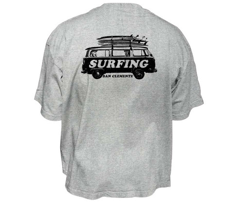 Safari Spot Print, Surf Tee for Men