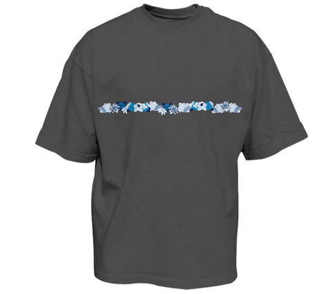 New Floral Classic Fit Tee