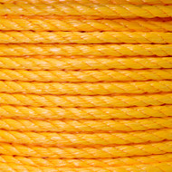 Twisted Polypropylene Rope 1/4""