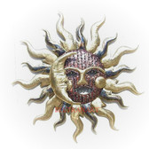 Celestial Kiss Metal Sun Small