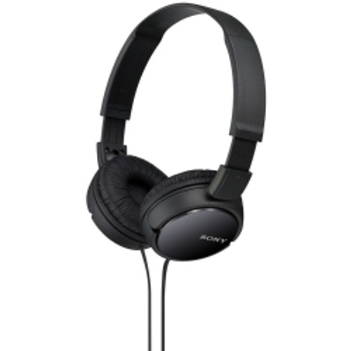Sony North America - ZX110 Over Ear Headphones - Black