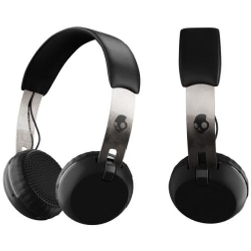 Skullcandy - Grind Bluetooth Headphones in Black/Chrome/Black