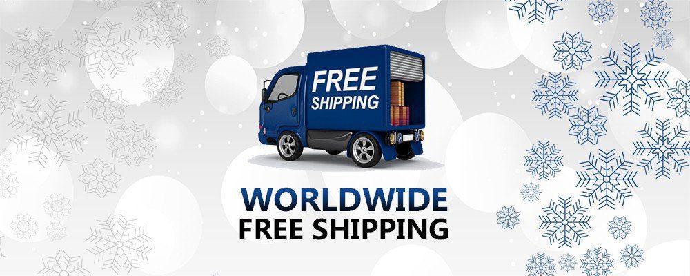 Free shipping Worldwide