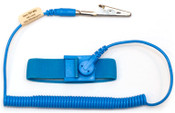 ESD Safe Anti Static Wrist Strap 6ft Ground Cord - Blue