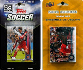 MLS Chicago Fire 2 Different Licensed Trading Card Team Sets