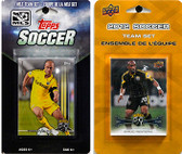MLS Columbus Crew 2 Different Licensed Trading Card Team Sets