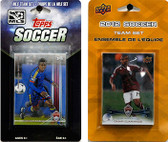 MLS Colorado Rapids 2 Different Licensed Trading Card Team Sets