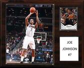 "NBA 12""x15"" Joe Johnson Brooklyn Nets Player Plaque"