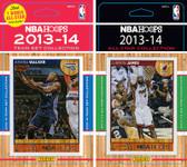 NBA Charlotte Bobcats Licensed 2013-14 Hoops Team Set Plus 2013-24 Hoops All-Star Set