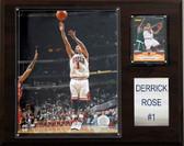 "NBA 12""x15"" Derrick Rose Chicago Bulls Player Plaque"