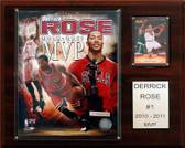 "NBA 12""x15"" Derrick Rose Chicago Bulls 2010-11 NBA MVP Plaque"