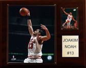 """NBA 12""""x15"""" Joakim Noah Chicago Bulls Player Plaque"""