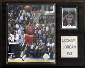 "NBA 12""x15"" Michael Jordan Chicago Bulls Player Plaque"