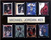 "NBA 12""x15"" Michael Jordan Chicago Bulls 8 Card Plaque"