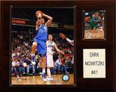 "NBA 12""x15"" Dirk Nowitzki Dallas Mavericks Player Plaque"