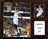 "NBA 12""x15"" Monta Ellis Dallas Mavericks Player Plaque"