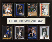 "NBA 12""x15"" Dirk Nowitzki Dallas Mavericks 8 Card Plaque"