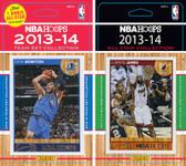 NBA Dallas Mavericks Licensed 2013-14 Hoops Team Set Plus 2013-24 Hoops All-Star Set