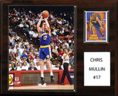 "NBA 12""x15"" Chris Mullin Golden State Warriors Player Plaque"