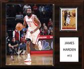"NBA 12""x15"" James Harden Houston Rockets Player Plaque"