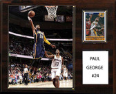 """NBA 12""""x15"""" Paul George Indiana Pacers Player Plaque"""