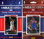 NBA Los Angeles Clippers Licensed 2014-15 Hoops Team Set Plus 2014-15 Hoops All-Star Set