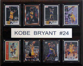 "NBA 12""x15"" Kobe Bryant Los Angeles Lakers 8 Card Plaque"