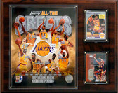 "NBA 12""x15"" Los Angeles Lakers All-time Great Photo Plaque"