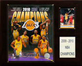 "NBA 12""x15"" Los Angeles Lakers 2010 NBA Champions Plaque"