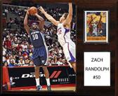 """NBA 12""""x15"""" Zach Randolph Memphis Grizzlies Player Plaque"""