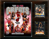 "NBA 12""x15"" Miami Heat All -Time Great Photo Plaque"