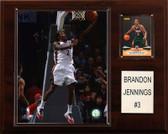 "NBA 12""x15"" Brandon Jennings Milwaukee Bucks Player Plaque"