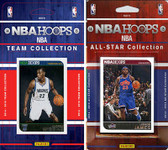 NBA Minnesota Timberwolves Licensed 2014-15 Hoops Team Set Plus 2014-15 Hoops All-Star Set