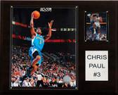 "NBA 12""x15"" Chris Paul New Orleans Hornets Player Plaque"